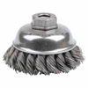 Weiler General-Duty Knot Wire Cup Brushes WEI 804-13153