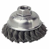 Weiler General-Duty Knot Wire Cup Brushes WEI 804-13163