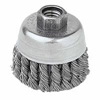 Weiler General-Duty Knot Wire Cup Brushes WEI 804-13258
