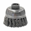 Weiler General-Duty Knot Wire Cup Brushes WEI 804-13284