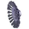 Weiler Knot Wire Bevel Wheel, 4 1/2 In D WEI 804-13456
