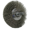 Weiler Narrow Face Concave Wire Wheel, 3 In D WEI 804-17937