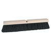 Weiler Vortec Pro Medium Sweeping Brushes, 24 In, 3 In Trim L, Black Tampico WEI 804-25232