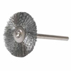 Weiler Miniature Stem-Mounted Wheel Brushes WEI 804-26015
