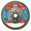 Weiler Vortec Pro Abrasive Flap Discs,4.5, 40 Grit, 5/8 Arbor, 13,000 RPM, Alum Back WEI 804-31314
