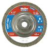 Weiler Vortec Pro Abrasive Flap Discs,4.5, 60 Grit, 5/8 Arbor, 13,000 RPM, Alum Back WEI 804-31315