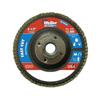 Weiler Vortec Pro Abrasive Flap Discs,4.5, 120 Grit, 5/8 Arbor, 13,000 RPM, Phenolic WEI 804-31353
