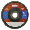 Weiler 5 Vortec Pro Abrasive Flap Disc, Angled, Phenolic Back WEI 804-31356