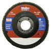 Weiler 4-1/2 Vortec Pro High Density Abrasive Flap Disc, Flat WEI 804-31387