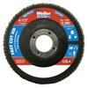 Weiler 4-1/2 Vortec Pro High Density Abrasive Flap Disc, Flat WEI 804-31388