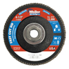 Weiler 4-1/2 Vortec Pro High Density Abrasive Flap Disc, Flat WEI 804-31390
