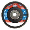 Weiler 4-1/2 Vortec Pro High Density Abrasive Flap Disc, Flat WEI 804-31392