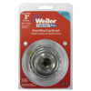 Weiler Vortec Pro Knot Wire Cup Brush, 3 In Dia., 5/8-11 Arbor, .02 Wire, Display Pack WEI 804-36038