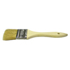 Weiler Chip & Oil Brushes, 1 In Wide, 1 1/2 In Trim, White China, Wood Handle WEI 804-40179