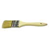 Weiler Chip & Oil Brushes, 3 In Wide, 1 1/2 In Trim, White China, Wood Handle WEI 804-40183