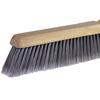 Ring Panel Link Filters Economy: Weiler - Black Horsehair Fine Sweep Brushes, 24 In Hardwood Block, 3 In Trim L