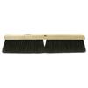Ring Panel Link Filters Economy: Weiler - Black Horsehair/Polypropylene Blend Fine Sweep Brush, 24 In Hardwd, 3 In Trim L