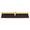 Weiler Garage Brooms, 24 In Hardwood Block, 3 1/4 In Trim L, Polypropylene Fill WEI804-42026