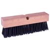 Weiler Wire Brooms, 16 In Hardwood Block, 3 3/4 In Trim L, Round Wire WEI 804-70215