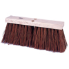 Weiler Street Brooms, 16 In Hardwood Block, 6 1/4 In Trim L, Palmyra/Bass WEI 804-42032