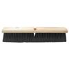 Ring Panel Link Filters Economy: Weiler - Black Polypropylene Medium Sweep Brushes, 24 In Hardwood Block, 3 In Trim L