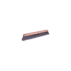 Weiler Flagged Silver Polystyrene Fine Sweep Brushes, 24 In Hardwood Block, 3 In Trim L WEI 804-42042