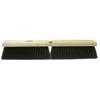 Weiler Black Tampico Medium Sweep Brushes, 36 In Hardwood Block, 3 In Trim L WEI 804-42047
