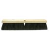 Weiler Horsehair/Tampico Medium Sweep Brushes, 36 In Hardwood Block, 3 In Trim L, Bk WEI 804-42049