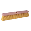 floor brush: Weiler - Perma-Sweep Floor Brushes, 18 In Foam Block, 3 In Trim L, Yellow Polypropylene