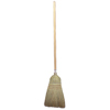 cleaning chemicals, brushes, hand wipers, sponges, squeegees: Weiler - Upright & Whisk Brooms, 18 In Trim L, Broom Corn/Rattan