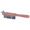 Weiler Heavy-Duty Scratch Brushes with Scapers WEI 804-44069