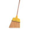 brooms and dusters: Weiler - Angle Brooms, 7 1/2 In-6 In Trim L, Flagged Plastic Fill