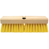Weiler Deck Scrub Brushes, 10 In Hardwood Block, 2 In Trim L, Polypropylene Fill WEI 804-44434