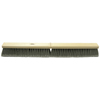 Ring Panel Link Filters Economy: Weiler - Medium Sweeping Contractor Broom, 24 In, 3 In Trim L, Flagged Polystyrene Border