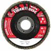 Weiler Saber Tooth™ Ceramic Flap Discs WEI 804-50100