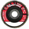 Weiler Saber Tooth™ Ceramic Flap Discs WEI 804-50101