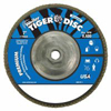 Weiler Tiger Disc™ Angled Style Flap Discs WEI 804-50544