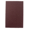Weiler Non-Woven Hand Pad, General Purpose, 6 In X 9 In, Medium/Coarse, Brown WEI 804-51444