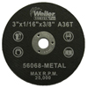 Weiler Vortec Pro™ Small Type 1 Reinforced Wheels WEI 804-56068