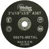 Weiler Vortec Pro™ Small Type 1 Reinforced Wheels WEI 804-56076