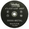 Weiler Vortec Pro™ Small Type 1 Reinforced Wheels WEI 804-56080
