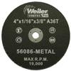 Weiler Vortec Pro™ Small Type 1 Reinforced Wheels WEI 804-56086