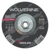 Weiler Wolverine Thin Cutting Wheels, 6 In Dia, 1/4 Thick, 5/8 Arbor, 24 Grit WEI 804-56279