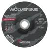Weiler Wolverine Thin Cutting Wheels, 6 In X .045 In, 7/8 Arbor, 60 Grit, S, Type 27 WEI 804-56283
