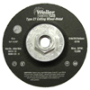 Abrasives: Weiler - Vortec Pro™ Type 27 Cutting Wheels