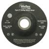 Weiler Vortec Pro™ Type 27 Thin Cutting Wheels WEI 804-56393