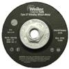 Weiler Vortec Pro™ Type 27 Grinding Wheels WEI 804-56455