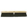 Ring Panel Link Filters Economy: Weiler - Horsehair/Polystyrene/Polypropylene Medium Sweep Brushes, 18 In, 3 In Trim L, Bk