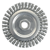 Weiler Dually&Trade; Stringer Bead Wheel, 4 1/2 In D X 3/16 W, .02 Carbon Steel, 12,500 RPM WEI 804-79801