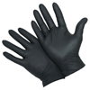 West Chester Durable Industrial Grade Nitrile Disposable Gloves, 5 Mil, Large, Black WSC 813-2920/L